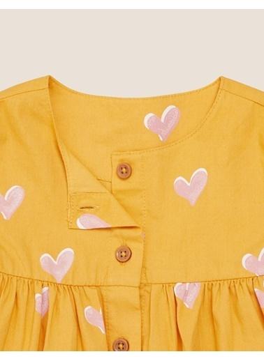Marks & Spencer 2'li Desenli Elbise Seti Sarı